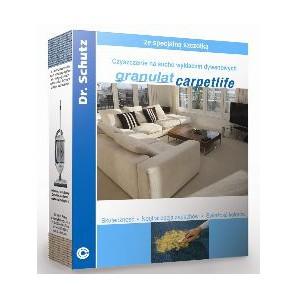Granulat, proszek do prania wykładzin na sucho - Granulat Carpetlife Dr. Schutz