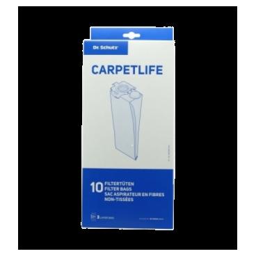 Worki do odkurzacza CARPETLIFE 370 10 szt. - Dr. Schutz