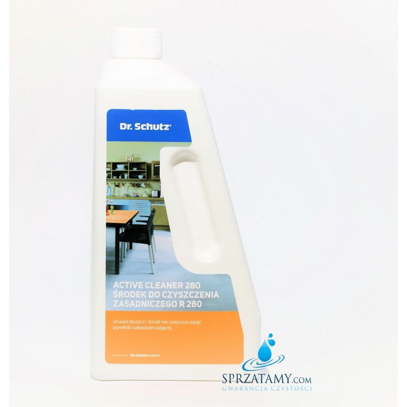 Płyn do czyszczenia podłóg z  silnych zabrudzeń - Środek do Czyszczenia Zasadniczego R 280  Dr. Shutz