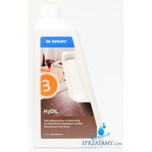 Olej pielęgnacyjny do odświeżania podłóg drewnianych i korka- H2Oil Dr. Schutz