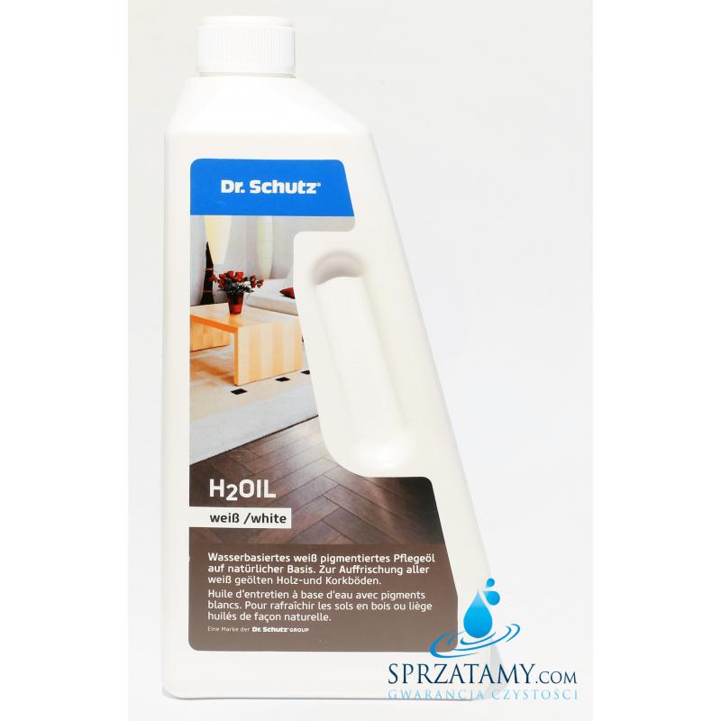 Olej pielęgnacyjny do podłóg drewnianych BIAŁYCH - H2Oil Biały Dr.Schutz