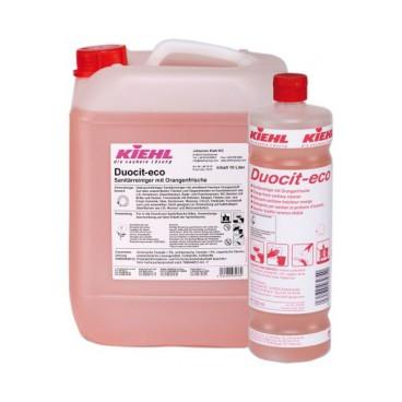 Płyn do mycia sanitariatów o świeżym pomarańczowym zapachu Kiehl Duocit Eco