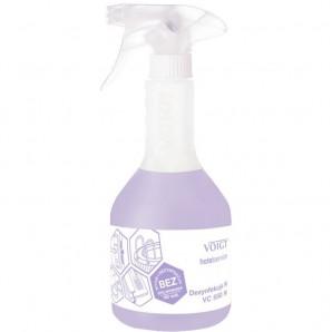 Płynny, alkoholowy preparat dezynfekcyjno-myjący o działaniu bakteriobójczym  i  grzybobójczym DEZYNFEKCJA N VC 550N Voigt