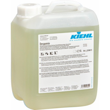 Desgomin Kiehl - płyn do mycia i dezynfekcji w koncentracie wolny od aldechydów, koronawirus