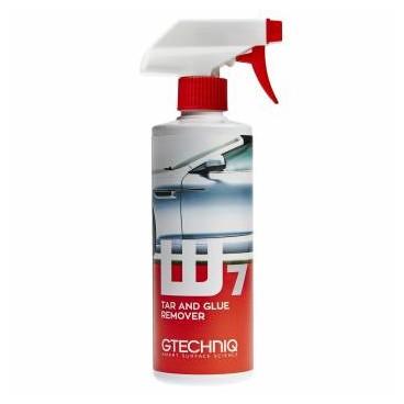 Gtechniq W7 Tar and Glue: Płyn do usuwania resztek asfaltu i kleju 500ml